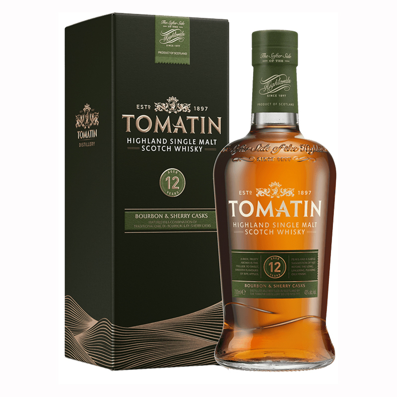 Tomatin 12 Years  0,7l