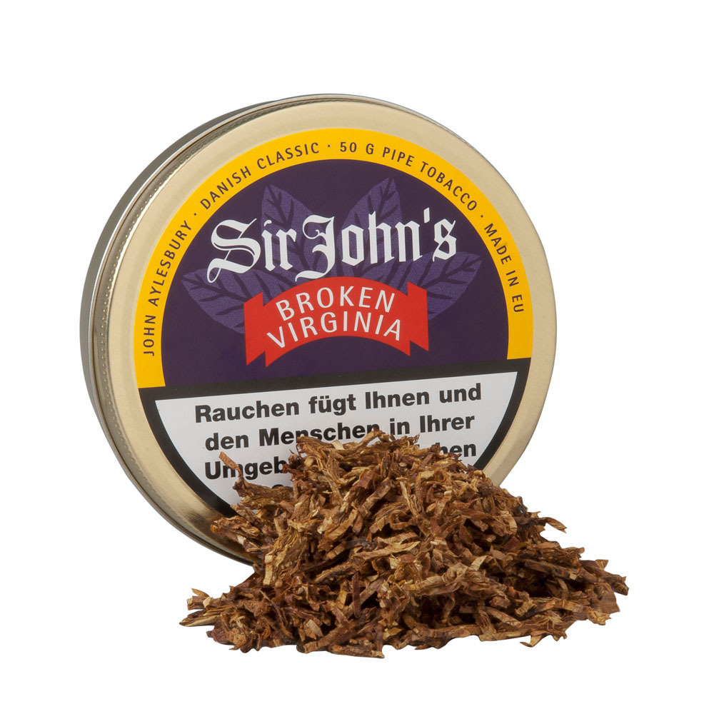 John Aylesbury Sir John's Broken Virginia 50gr.