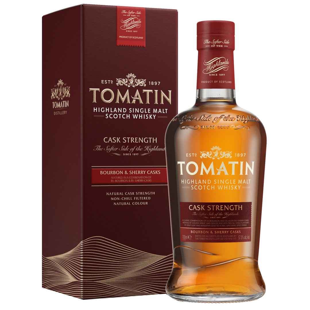 Tomatin Cask Strength Edition 0,7l