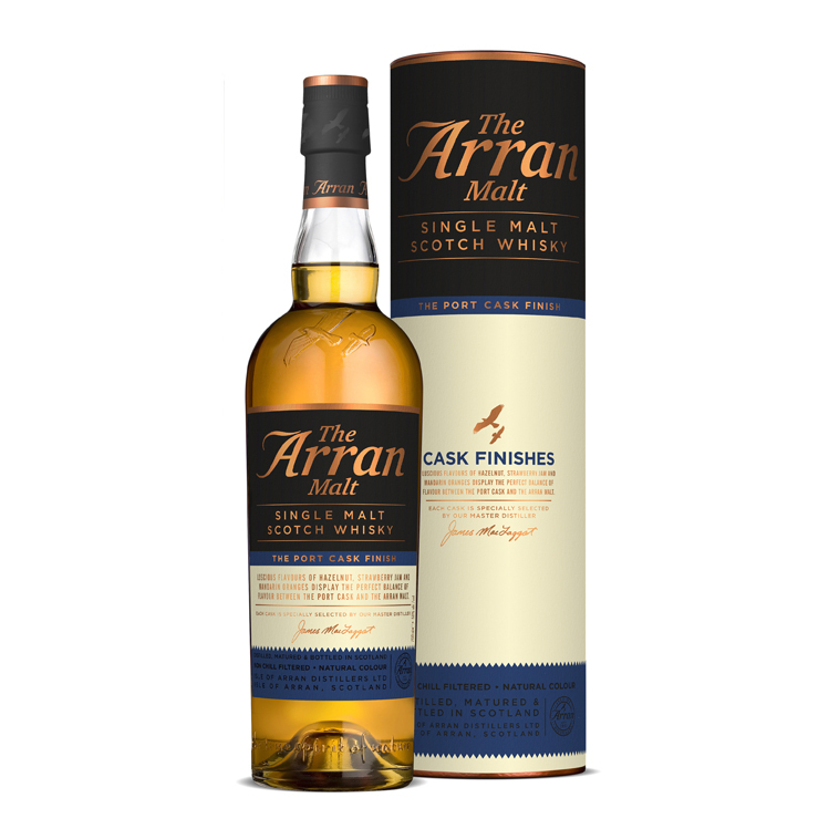 The Arran Cask Finish Port 0,7l