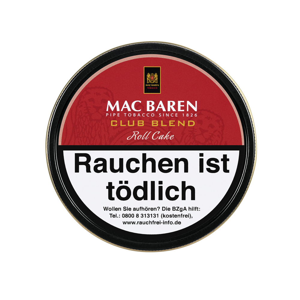 Mac Baren Club Blend Roll Cake 100gr.