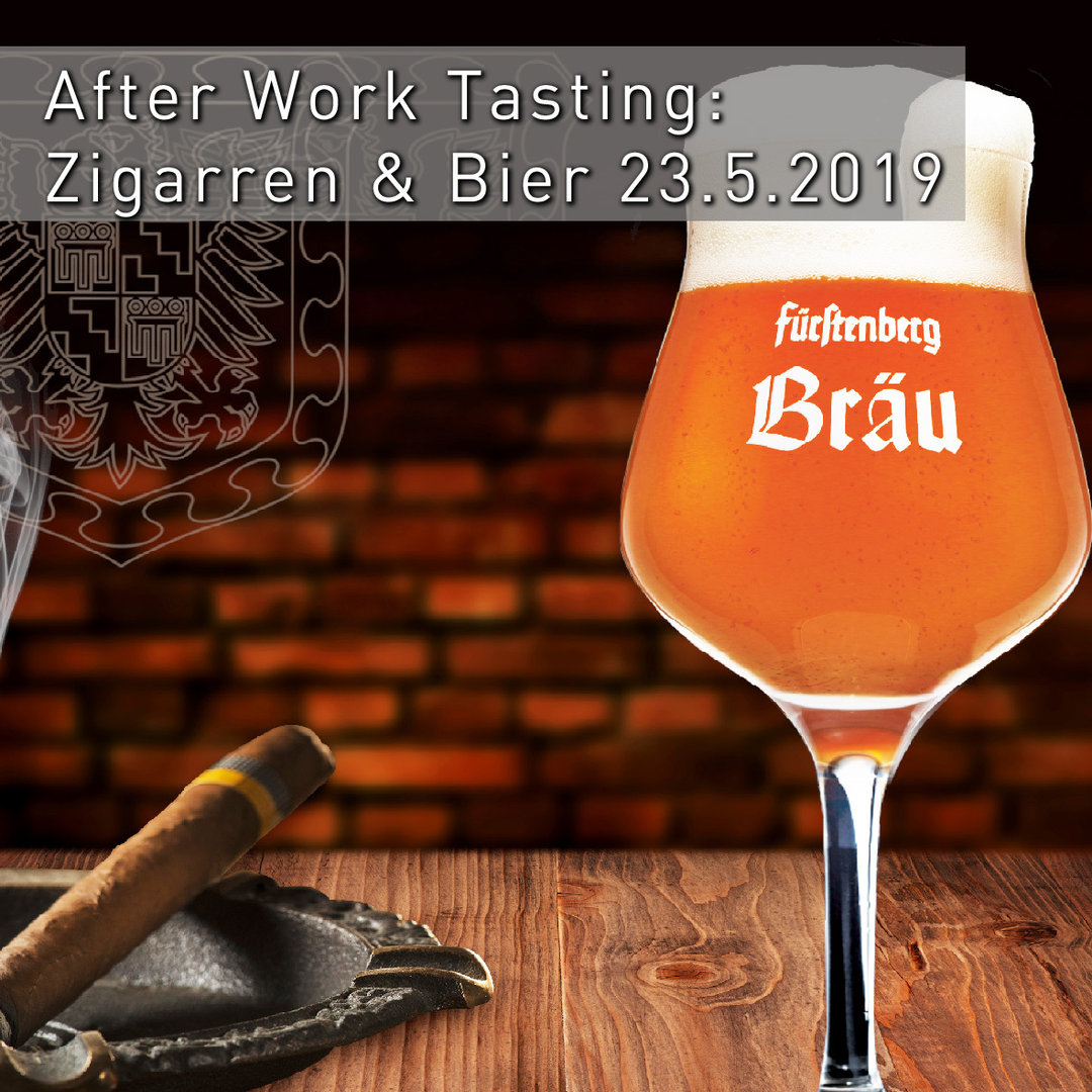 After Work Tasting: Zigarren & Bier am 23.5.2019