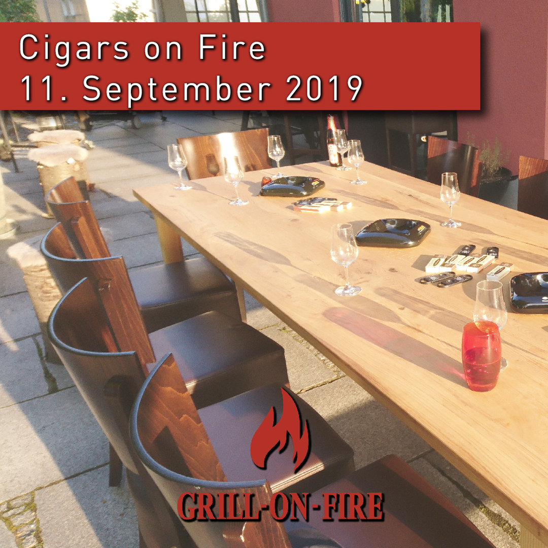 Cigars on Fire 11.9.2019