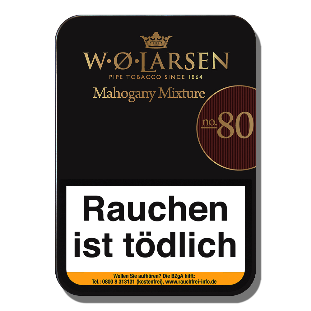 W.O. Larsen no.80 Mahagony Mixture 100gr.