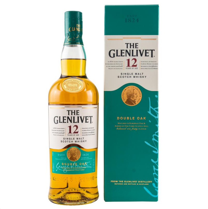 Glenlivet 12 Double Oak 0,7l