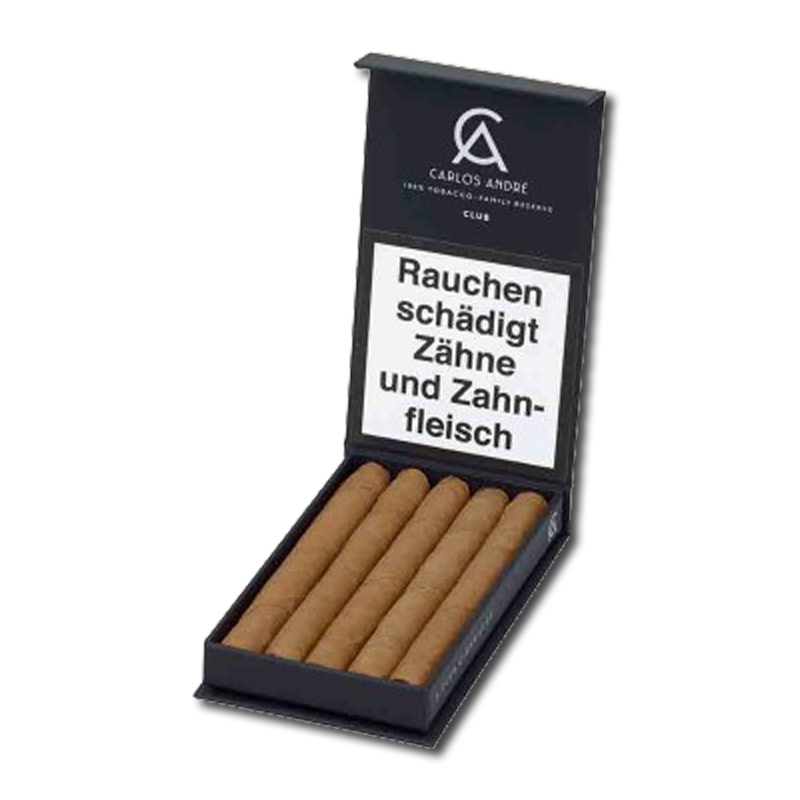 Carlos André Club Cigarillo - 5er Packung